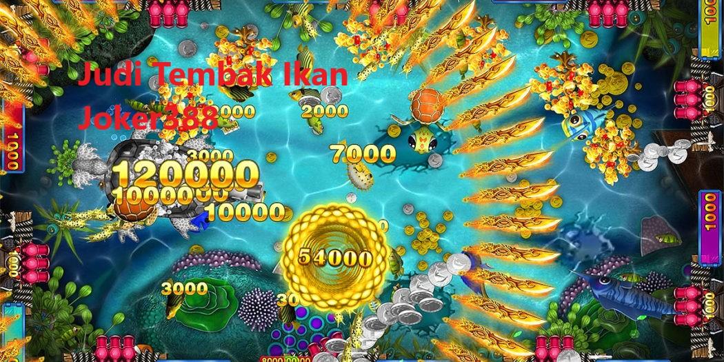 Permainan Game Tembak Ikan Joker123 Online Pakai Uang Asli